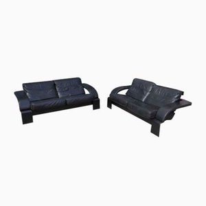 KrokenSofas by Åke Fribytter for Roche Bobois, 1980s, Set of 2