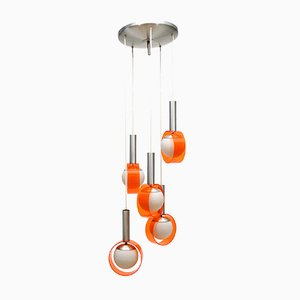 5-Light Ceiling Lamp from Stilux Milano, 1960s
