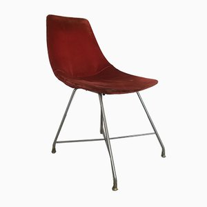 Mid-Century Desk Chair by Augusto Bozzi for Saporiti Italia