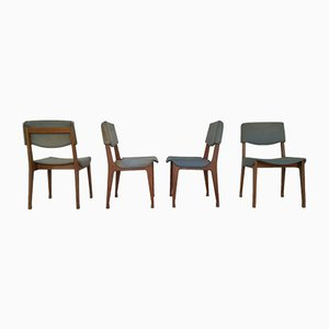Mid-Century Dining Chairs from M.I.M. Roma, Set of 4
