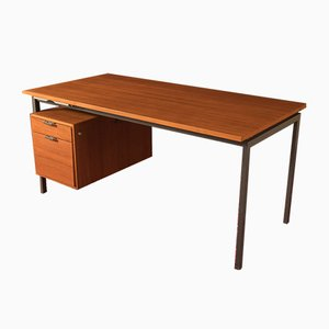 Teak Veneer Desk from Holzäpfel, 1960s