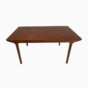 Mesa de comedor de teca de McIntosh, años 60