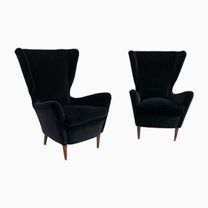 Lounge Chairs from ISA Bergamo, 1950s, Set of 2