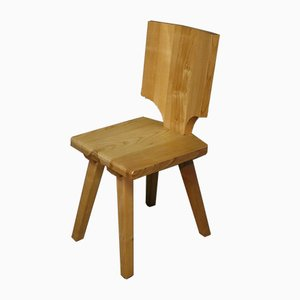 Vintage Elm Dining Chair