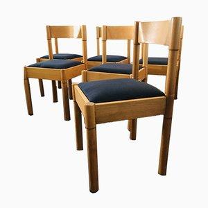 Esszimmerstühle von Vico Magistretti für Heal's, 1960er, 6er Set