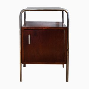 Bauhaus Nightstand by Robert Slezak, 1930s