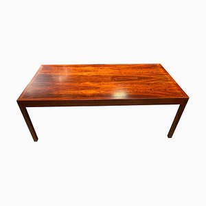 Mid-Century Rosewood Coffee Table by Hans J. Wegner for Andreas Tuck