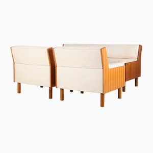 Armchairs & Couch from Anonima Castelli, 1950s, Set of 3