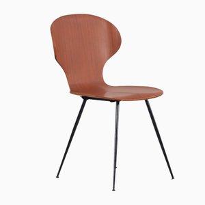Italienische Bugholz Stühle von Carlo Ratti, 1950er, 6er Set