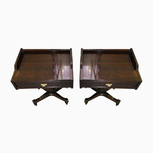 Rosewood Nightstands by Claudio Salocchi for Sarmoni, 1960s, Set of 2