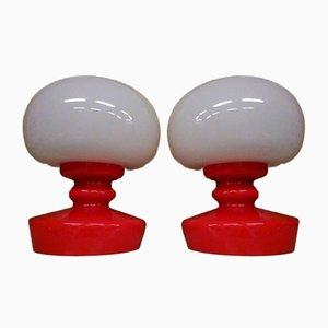 Czech Table Lamps from Kamenicky Senov, 1970s, Set of 2