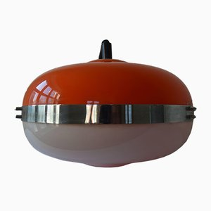 Lámpara colgante de Harvey Guzzini para Meblo, años 70