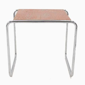 Bauhaus Chrome B9 Nesting Tables by Marcel Breuer for Thonet, 1930s