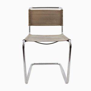 Bauhaus Chrome Chair by Jindřich Halabala for UP Závody, 1930s