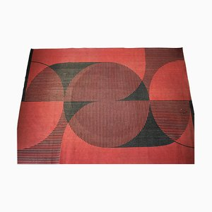 Modernist Abstract Geometric Carpet, 1970s