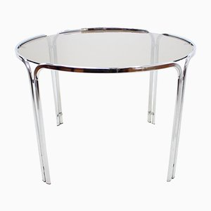 Italian Chrome Dining Table, 1960s