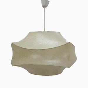 Große Italienische Cocoon Hängelampe von Achille Castiglioni, 1960er