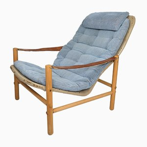 Schwedischer Modell Junker Safari Chair von Bror Boije für Dux, 1960er