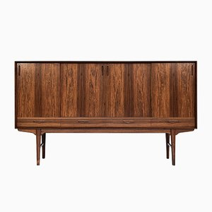 Danish Rosewood Sideboard by Henry Rosengren Hansen, 1960s