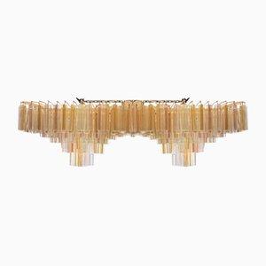 Mid-Century Hängelampe aus Geschliffenem Glas von Paolo Venini für Venini, 1960er