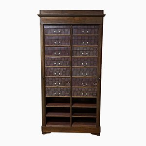 19th Century Louis Philippe Style Mahogany Cabinet
