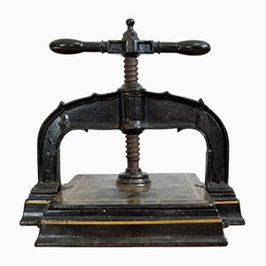 Large Antique Book Press, 1910s