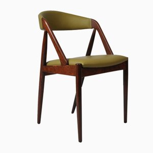 Chaise de Salle à Manger Modèle 31 en Palissandre par Kai Kristiansen pour Schou Andersen, années 60