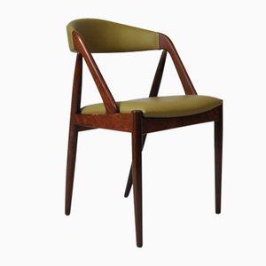 Modell 31 Esszimmerstuhl aus Palisander von Kai Kristiansen für Schou Andersen, 1960er