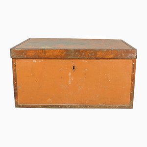 Mid-Century Metal Storage Box