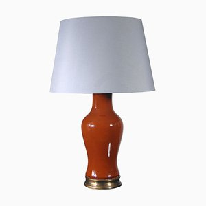 Italian Pottery Table Lamp, 1960s