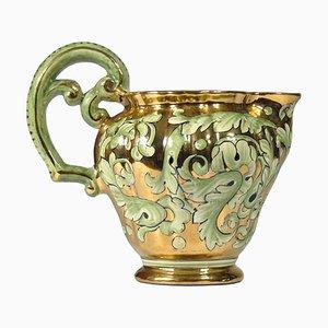 Brocca in ceramica di Ars Artigiana Deruta, anni '60