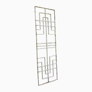 Art Deco Wrought Iron Grid, 1920s