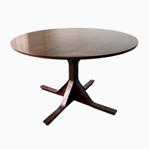 Rosewood Dining Table by Gianfranco Frattini for Bernini, 1960s
