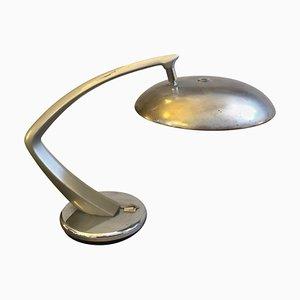 Space Age Boomerang Tischlampe von Fase, 1970er