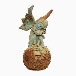 Vintage Iron Fairy Garden Ornament