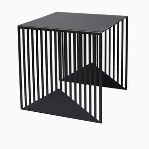 Großer schwarzer Zick Zack Tisch von Olga Bielawska für Swedish Ninja