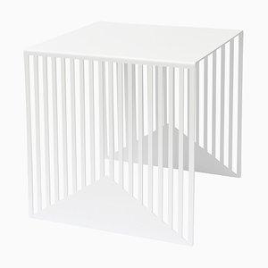 Großer weißer Zack Zack Tisch von Olga Bielawska für Swedish Ninja