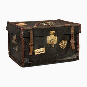 Antiker englischer Reisekoffer