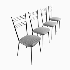 Mid-Century Dining Chairs by Colette Gueden, Set of 4