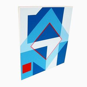 Pintura abstracta de Hélène Paene Petre, años 70