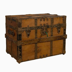Antique American Carriage Trunk