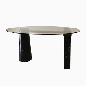 Mesa de comedor de Maurizio Cattelan para Scab Design, años 80