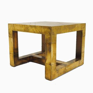 Brutalist Brass Coffee Table, 1970s