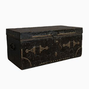 Antique Merchant's Trunk