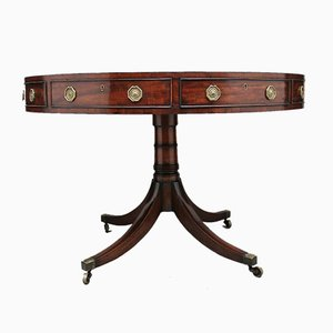 19th Century Mahogany Drum Table