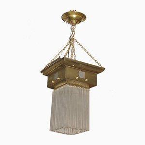 Art Nouveau Style Ceiling Lamp, 1920s