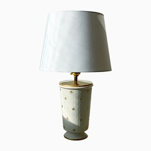 Ceramic Model Carrara Table Lamp by Wilhelm Kåge for Gustavsberg, 1940s