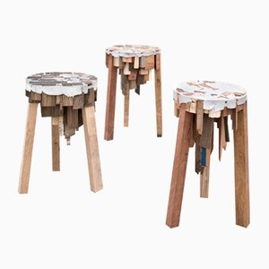 Bits of Wood Stool by Pepe Heykoop