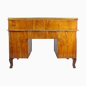 Antiker Schreibtisch aus Nussholz & Palisander, 1860er