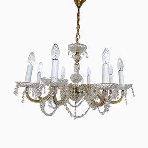 8-Arm Ballroom Chandelier, 1950s